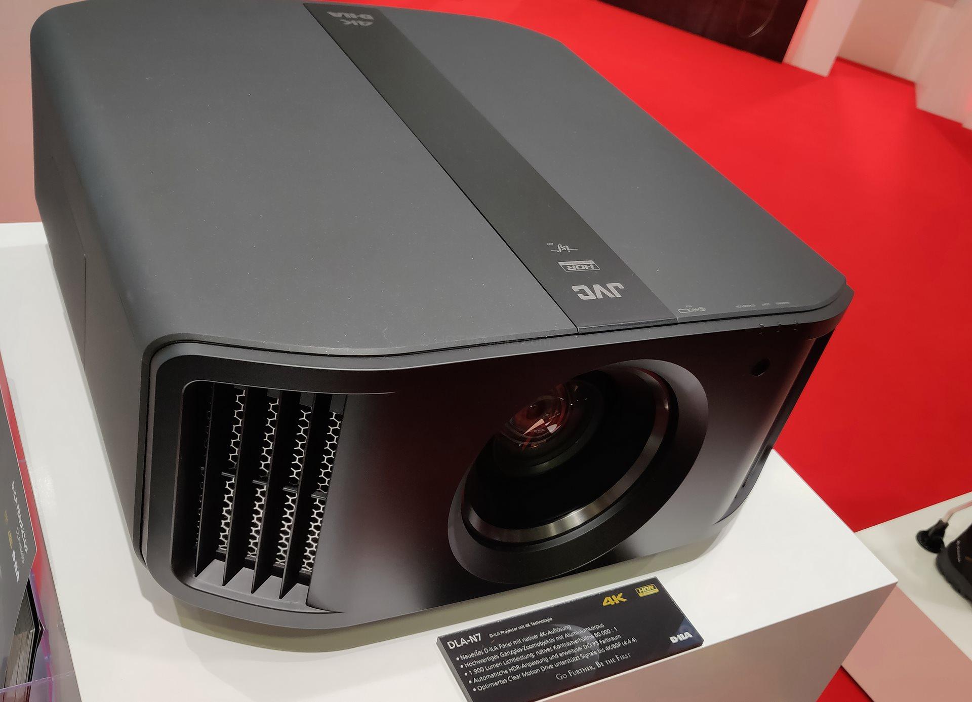 IFA 2018: Natywne 4K w projektorach JVC 2018 | ZAPOWIEDŹ | DLA-N5, DLA-N7 i DLA-NX9 8K e-shift