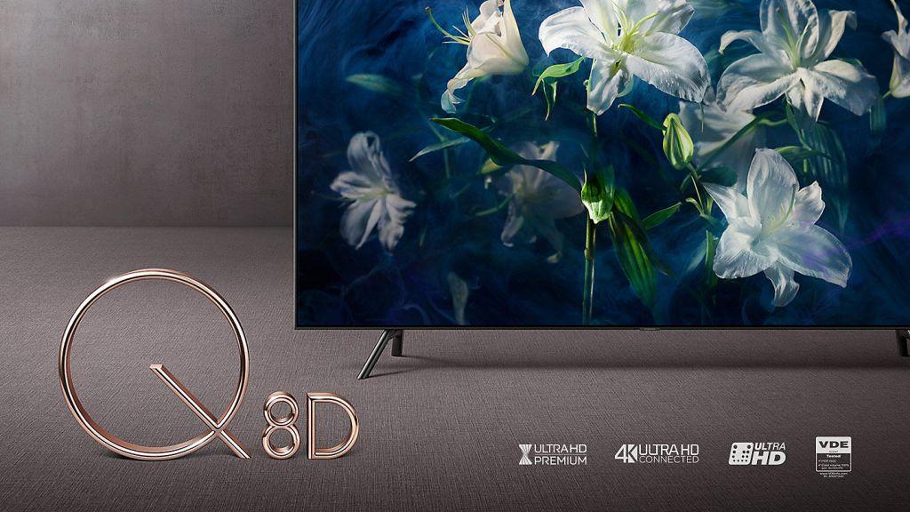 Samsung QLED Q8D (2018) QE55Q8DNA | TEST | Direct LED 4K z systemem Tizen