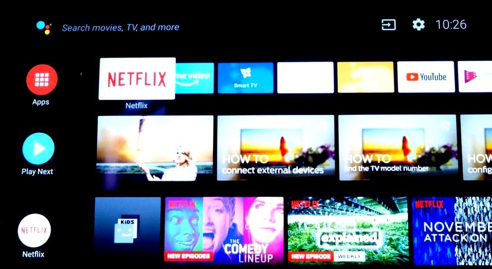 Android Oreo tv sony