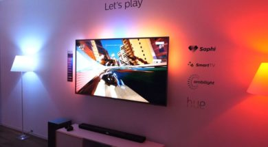Granie na TV Philips IFA 2018 ambilight hue SAPHI