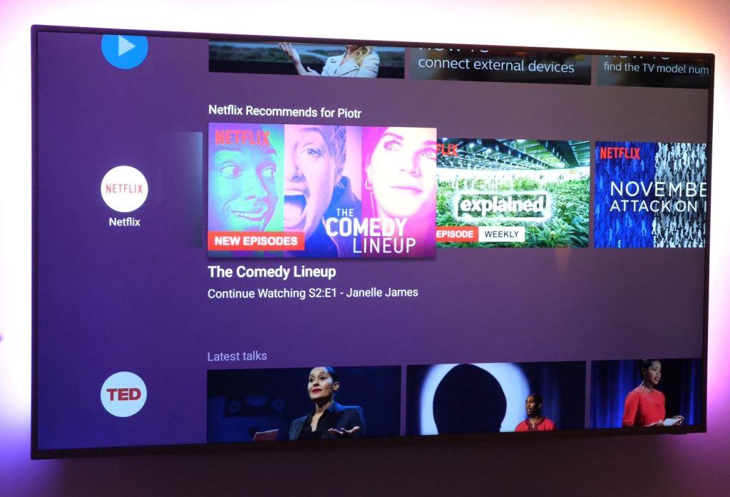 Philips Android TV z systemem w wersji Oreo od listopada