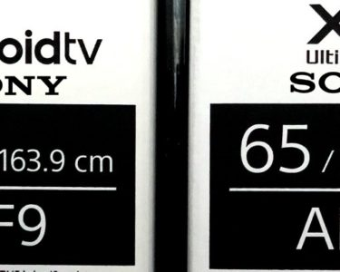 test sony oled AF9 lcd ZF9