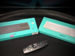 Klawiatura Logitech K400 Plus TV test z telewizorem