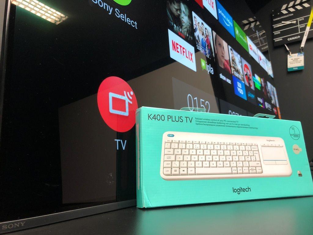 Klawiatura Logitech K400 Plus TV test android oreo 8.0