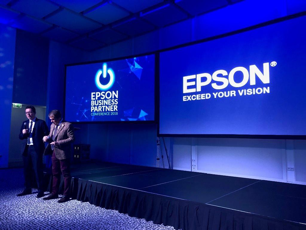 Konferencja biznesowa Epson w Warszawie