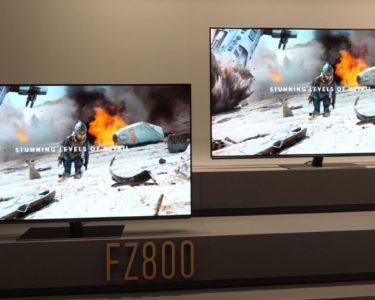 Test wideo Panasonic OLED TV FZ800