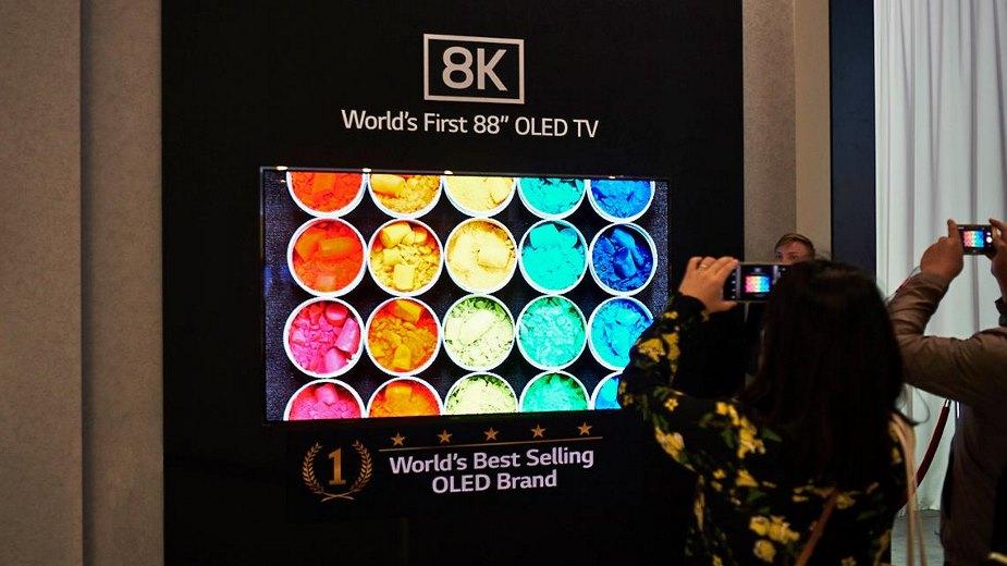 Telewizory LG 8K OLED w sprzedaży od czerwca 2019?