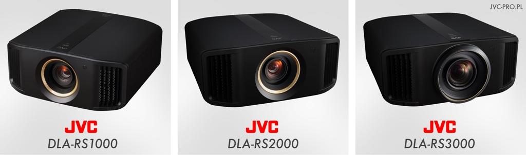JVC pro seria RS test 2018