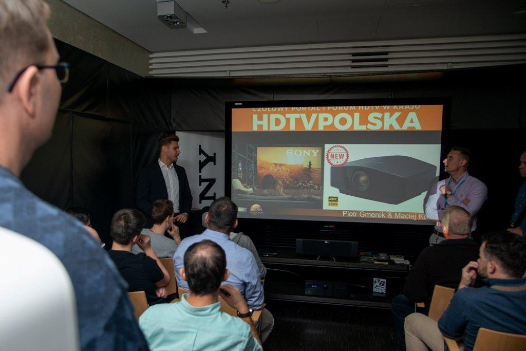 Sony Audio Video Show 2018 wykłady HDTVPolska