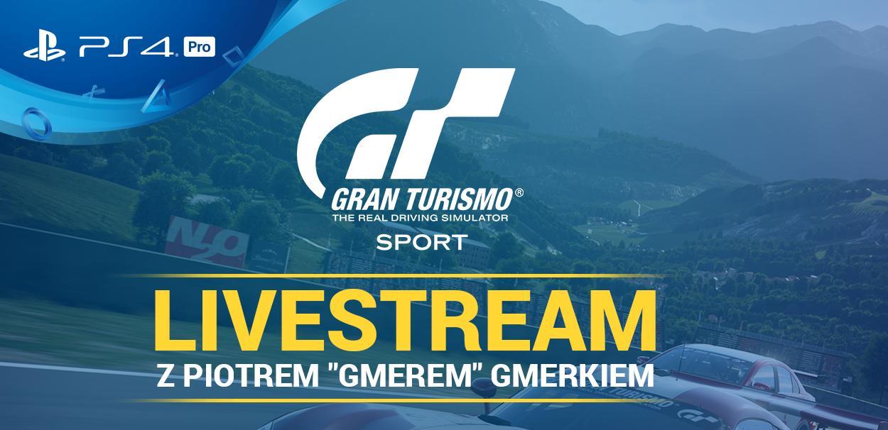 Livestream HDTVPolska w Gran Turismo Sport z PlayStation Polska!