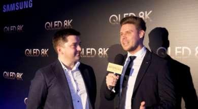 Wywiad Grzegorz Stanisz premiera QLED 8K Samsung