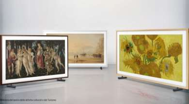Samsung the frame -Allegory-of-the-Spring_Sunset-Hasting_Sunflowers