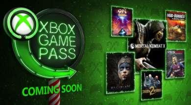 Xbox Game pass grudzień 2018