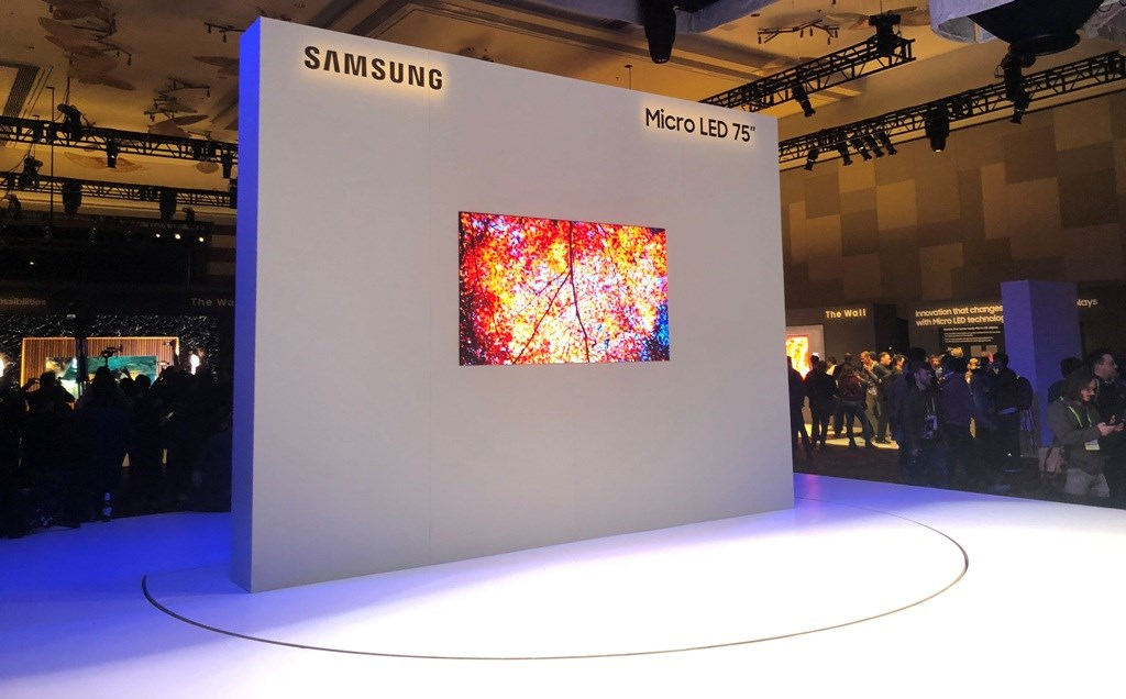 Co to jest Micro LED Samsung? CES 2019