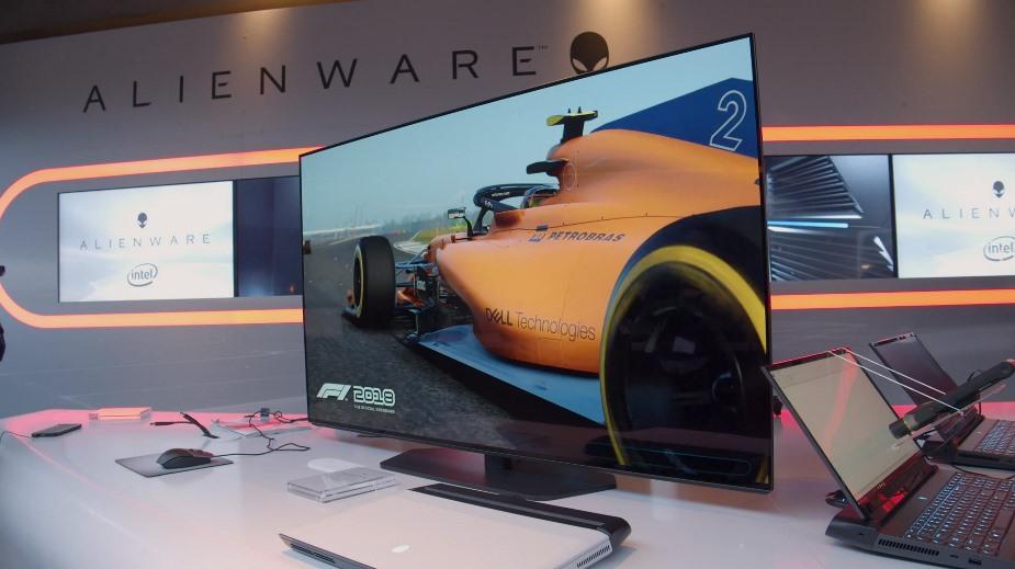 """CES 2019: Dell ogłosił 55"""" monitor Alienware 4K120Hz OLED dla graczy"""
