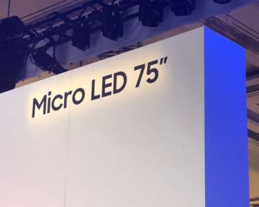 Micro LED Samsung CES 2019 relacja