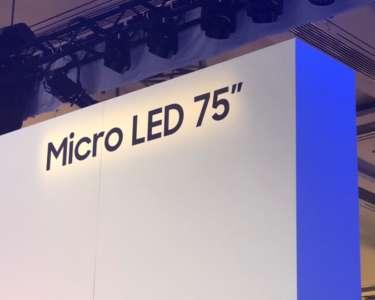 Micro LED Samsung CES 2019 relacja