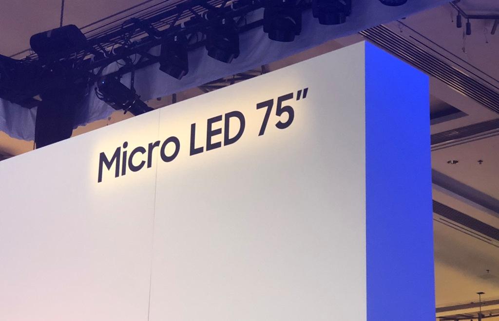 CES 2019 | POKAZ First look | Co wiemy o Micro LED TV Samsung? Czy to będzie telewizor idealny?