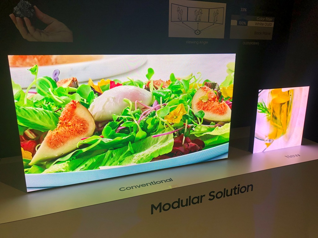 Micro led tv co to jest samsung ces 2019