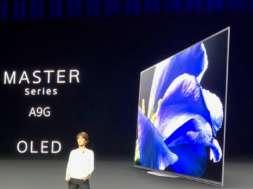 Sony OLED AG9 2019 ces 2019