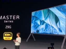 Sony ZG9 8K HDR ces 2019