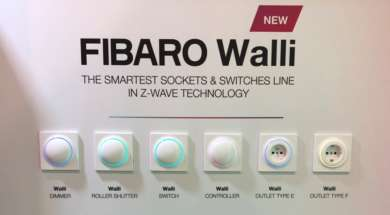 Fibaro Walli CES 2019 wrażenia
