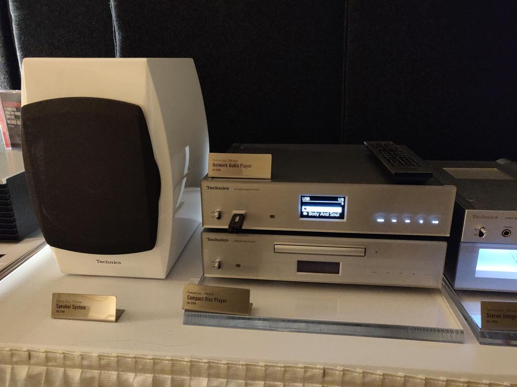 CES 2019: Najwyższej klasy odtwarzacz Technics Network / Super Audio CD Player SL-G700