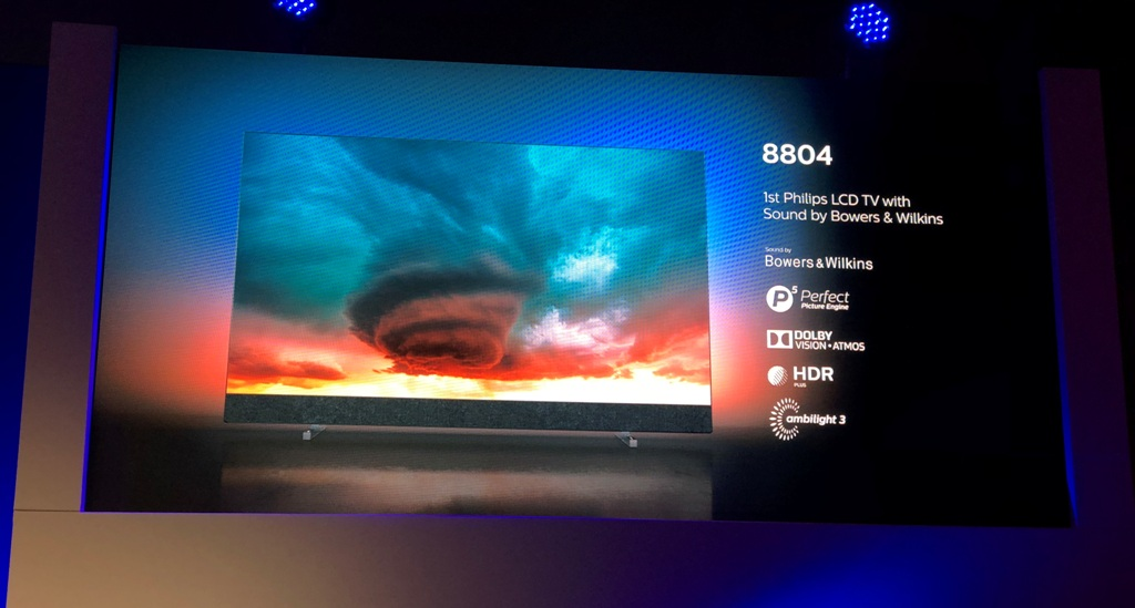 Konferencja Philips 2019 Amsterdam Dolby Vision HDR10plus 1 LCD 8404