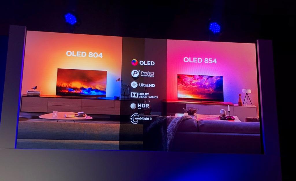 Konferencja Philips 2019 Amsterdam Dolby Vision HDR10plus oled 804 oled 854