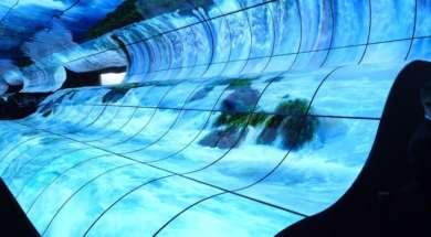 LG tunel okładka CES 2019