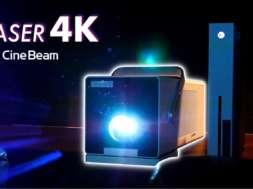 Projektor LG CineBeam Laser 4K HU80KSW test