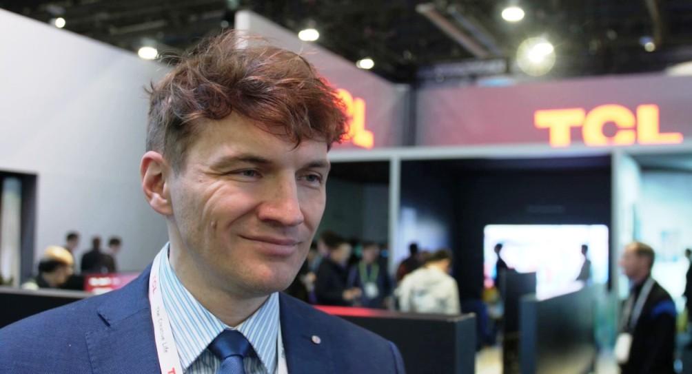 Marek Maciejewski TCL CES 2019