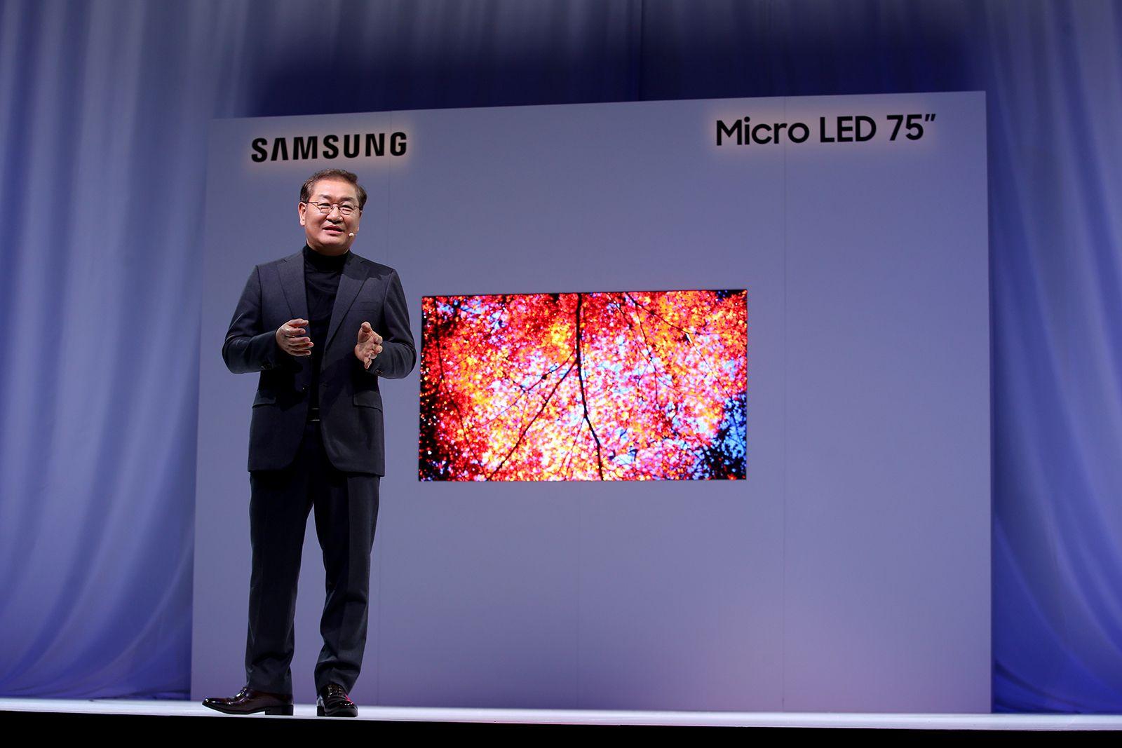 Samsung micro led ces 2019
