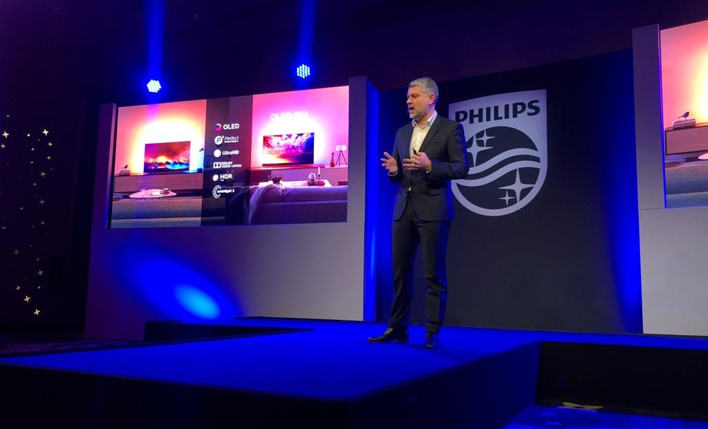 Philips 2019: Premiera nowych telewizorów OLED 804 oraz OLED 854