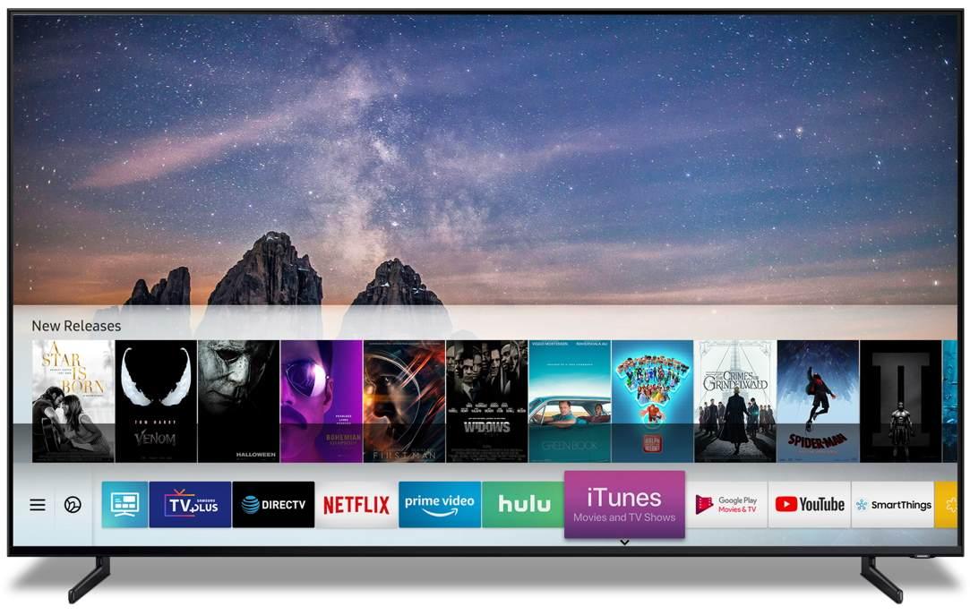 CES 2019: Samsung wprowadza iTunes oraz Airplay 2 do telewizorów z 2019/18