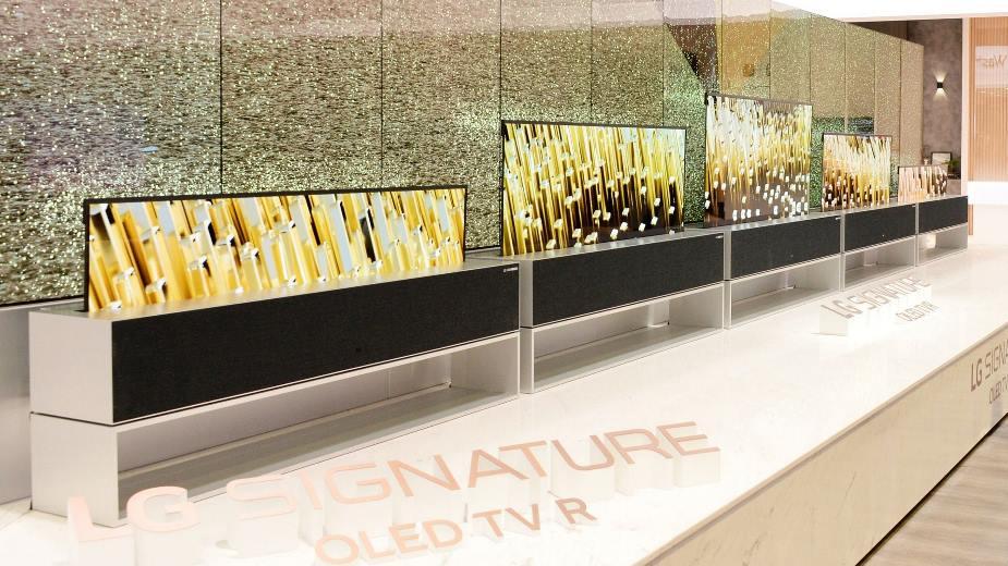 CES 2019: LG SIGNATURE OLED R -pierwszy na świecie rolowany telewizor