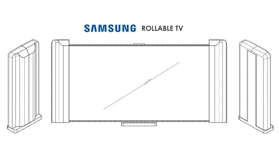 Samsung opatentował zwijany TV