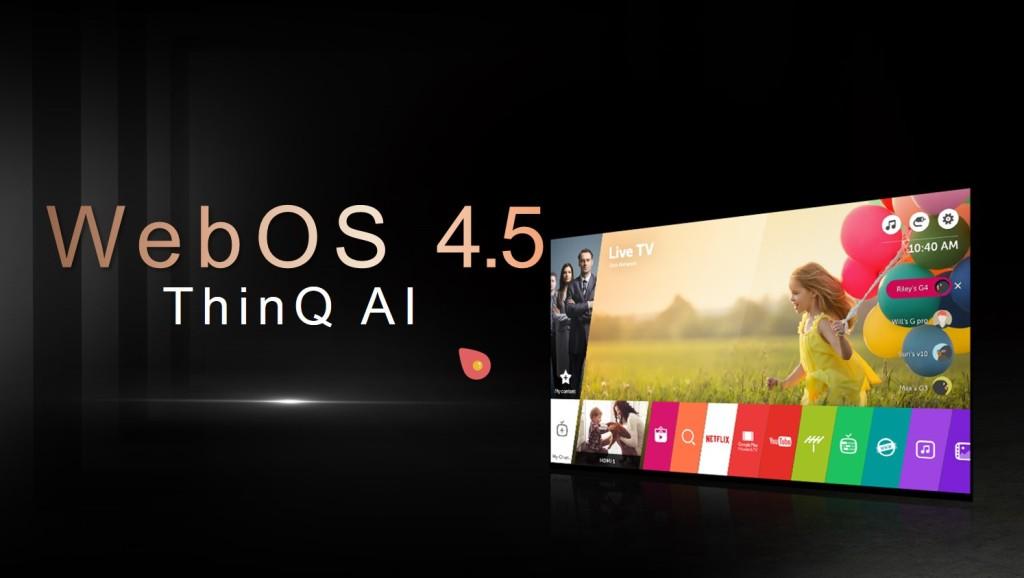 CES 2019: LG webOS 4.5, wspomaganie audio przez sztuczną inteligencję AI