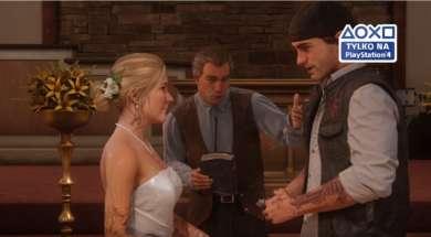 Days Gone PS4 ślub
