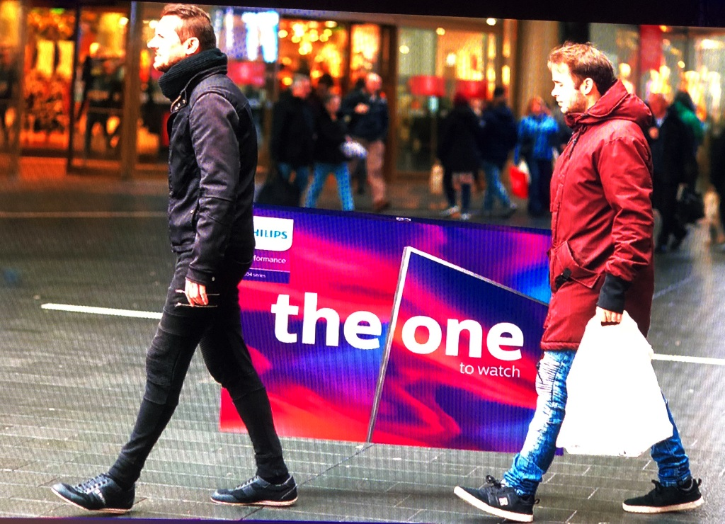 "Premiera telewizora ""the one"" Philips na Electronics Show"