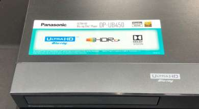Panasonic Ultra HD Blu-ray DP-UB450