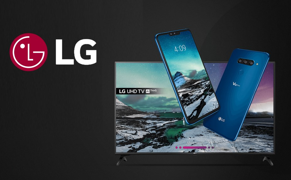 LG dorzuca telewizor 4K UHD do smartfona V40 ThinQ