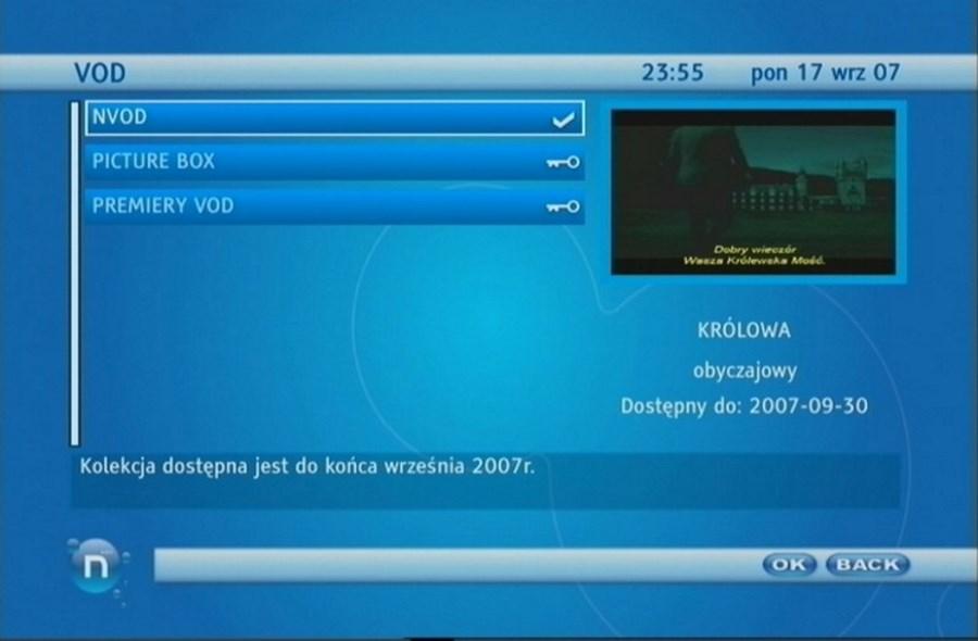 VOD telewizja n
