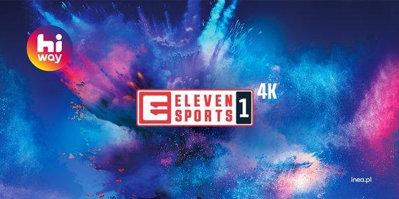 INEA: Od dziś Eleven Sports 1 w jakości 4K