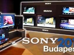 Konferencja premiera telewizorów Sony Budapeszt 2019