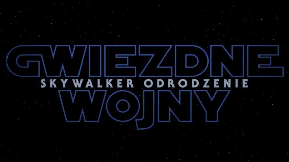 Gwiezdne Wojny: Skywalker Odrodzenie – oficjalny tytuł Epizodu IX