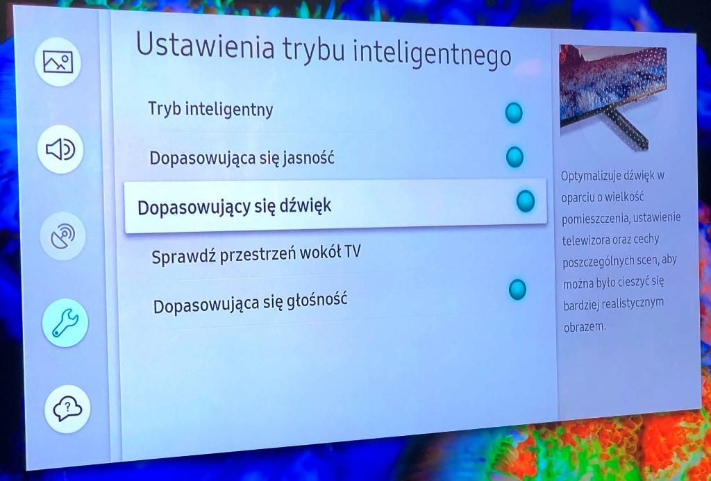 Intelligentmode samsung QLED 2019