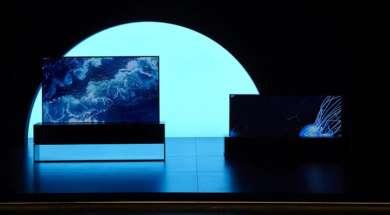 LG OLED R zwijany telewizor test