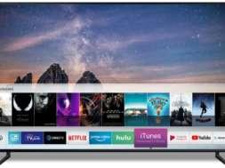 Smart-TV samsung qled 2019