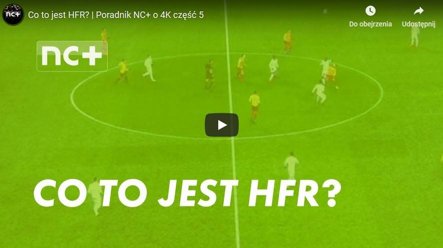 Co to jest HFR w telewizorach